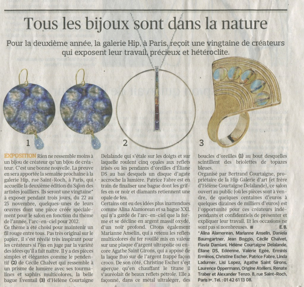 Le Figaro - 16 nov 2012