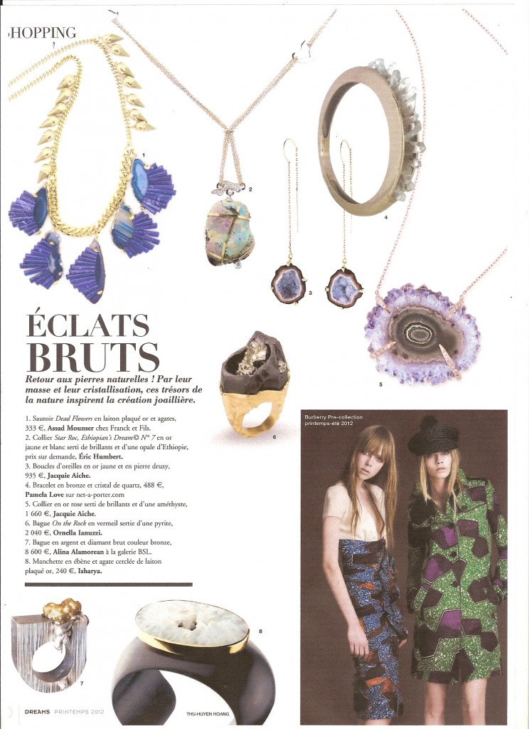 DREAMS Magazine - Spring 2012 - Bronze Diamond Ring