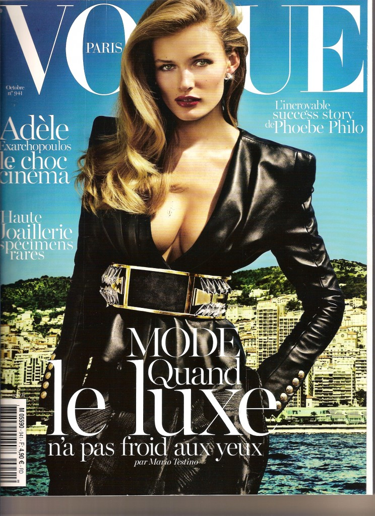 Vogue France - Octobre 2013
